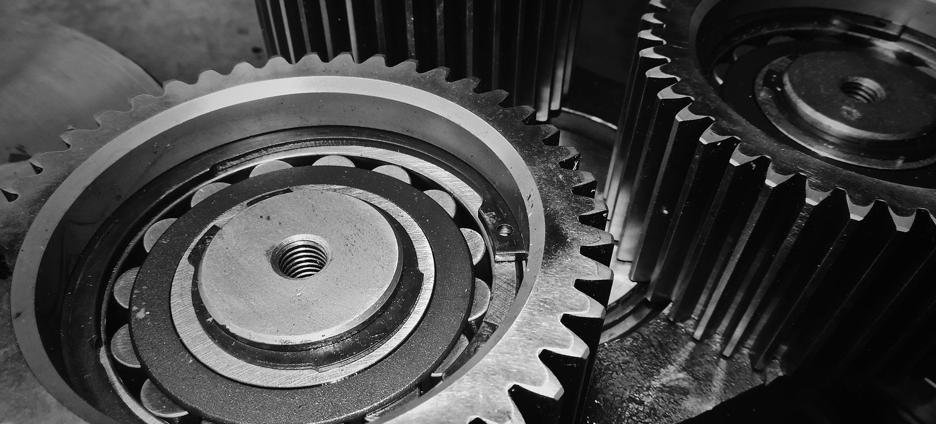 Servicing of extruder gearbox in Hungary